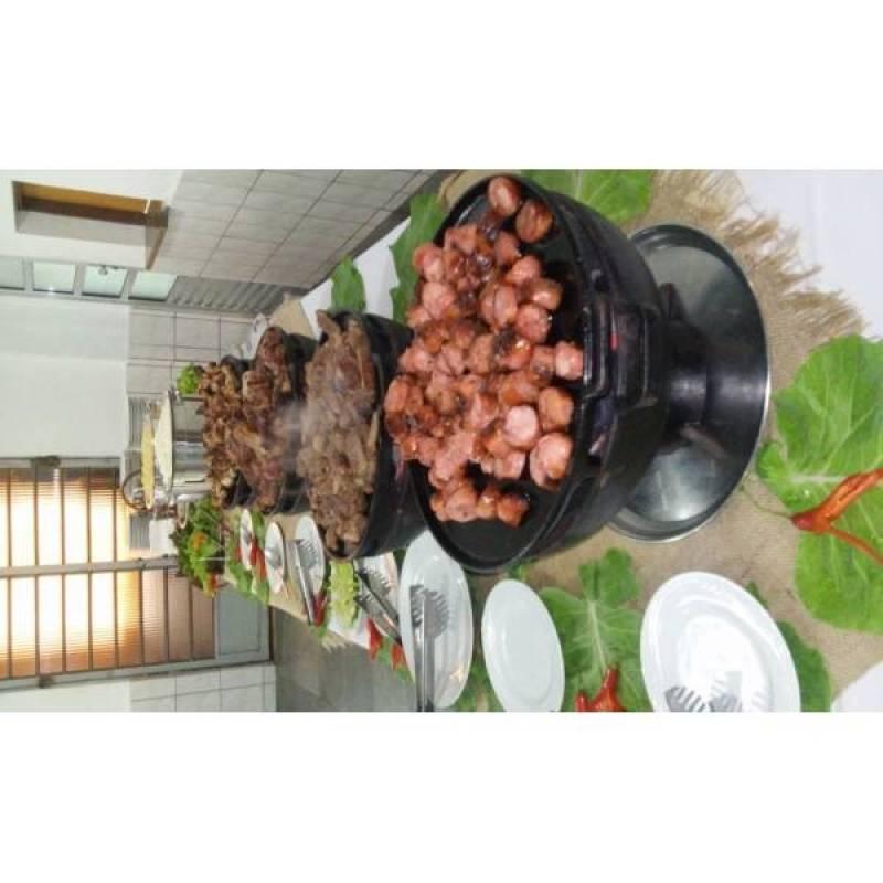 Buffet de Churrasco para 150 Pessoas Preço no Jardim Iguatemi - Buffet de Churrasco para 80 Pessoas