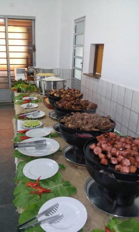 Buffet de Churrasco para 50 Pessoas na Bela Vista - Buffet de Churrasco Completo