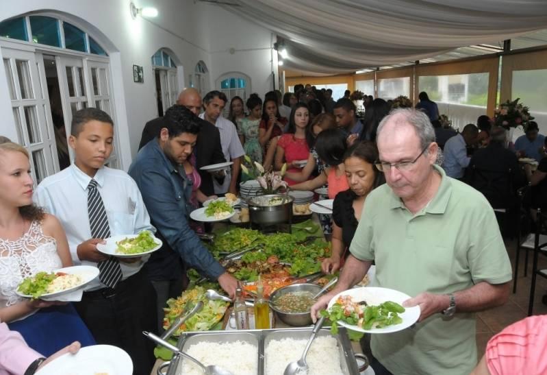 Buffet de Churrasco para Festa em Domicílio em Jaraguá - Buffet de Churrasco a Domicílio