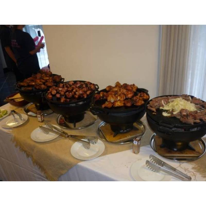 Contratar Buffet de Churrasco Casamento no Jardim Iguatemi - Buffet de Churrasco e Saladas