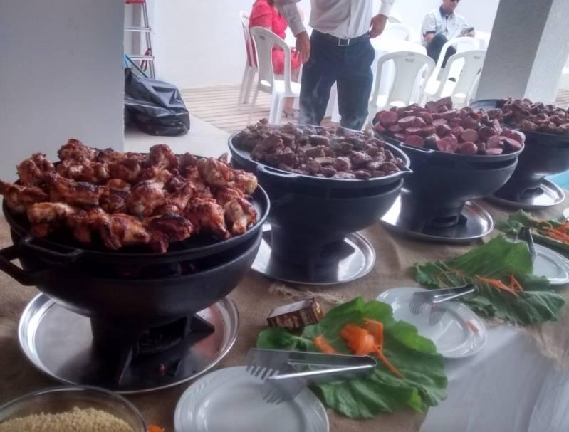 Contratar Buffet de Churrasco para 50 Pessoas no Campo Limpo - Buffet de Churrasco Casamento