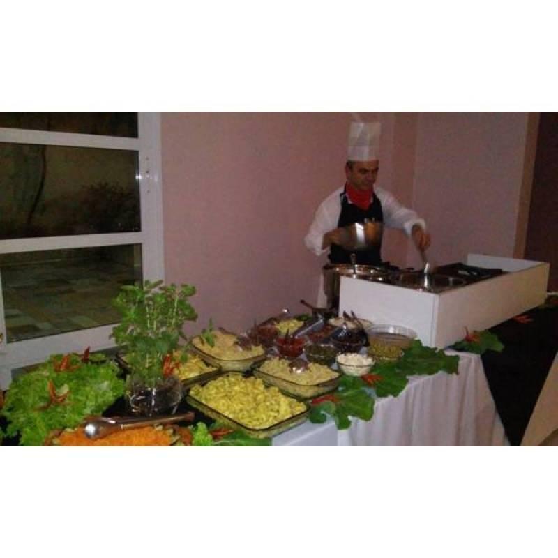 Contratar Buffet de Coquetel a Domicílio no Santo André - Buffet para Jantar em Domicílio