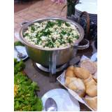 buffet completo em domicílio preço na Água Branca