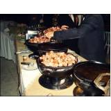 buffet de churrasco para festa em domicílio preço no Santo André