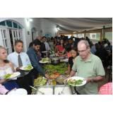 buffet de churrasco para festa em domicílio no Ribeirão Pires