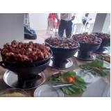 buffet de coquetel em domicílio preço no Brás