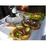 buffet de tábua de frios a domicílio