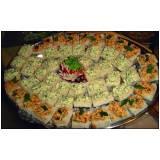 buffet em domicílio para jantar no Brás