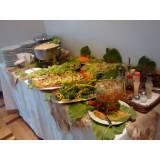 buffet para almoço a domicílio na Água Branca