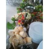 buffet de casamento em domicílio
