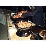 buffets em domicílio para jantares em Alphaville