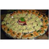 buffets para jantares em domicílio na Água Branca