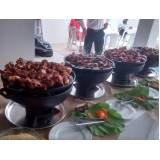 contratar buffet infantil a domicílio com churrasco na Santa Efigênia