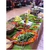 contratar buffet para jantar a domicílio em Pinheiros